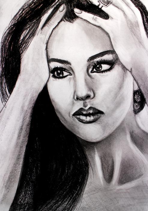 Monica Bellucci by Tamzine
